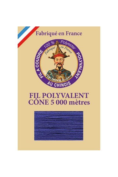 Fil à coudre 100 % polyester Cône de 5 000 m Col. 5731 Agathe