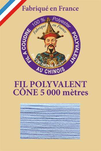 Polyester sewing thread 5000m cone - Col. 750 Gobelin blue