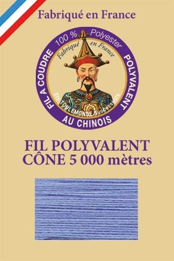 Polyester sewing thread 5000m cone - Col. 700 Armor