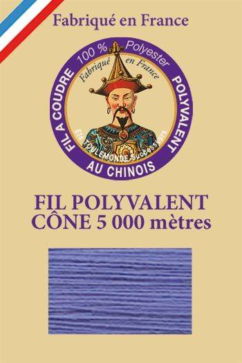 Polyester sewing thread 5000m cone - Col. 7099 Ocean