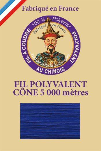 Polyester sewing thread 5000m cone - Col. 367 Royal blue