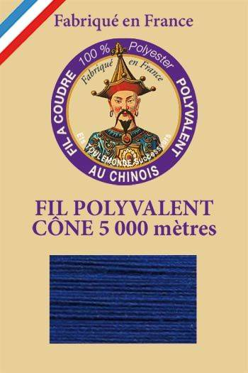 Polyester sewing thread 5000m cone - Col. 672 Sapphire