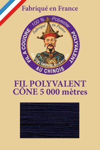 Polyester sewing thread 5000m cone - Col. 7670 Admiral