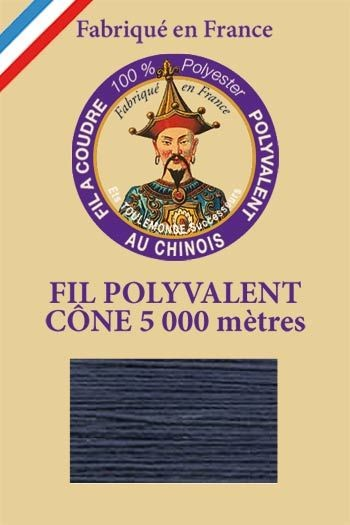 Polyester sewing thread 5000m cone - Col. 730 Indigo