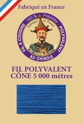Polyester sewing thread 5000m cone - Col. 720 Petrol