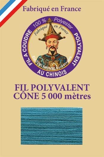 Polyester sewing thread 5000m cone - Col. 760 Duck