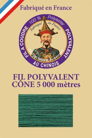 Polyester sewing thread 5000m cone - Col. 527 Green