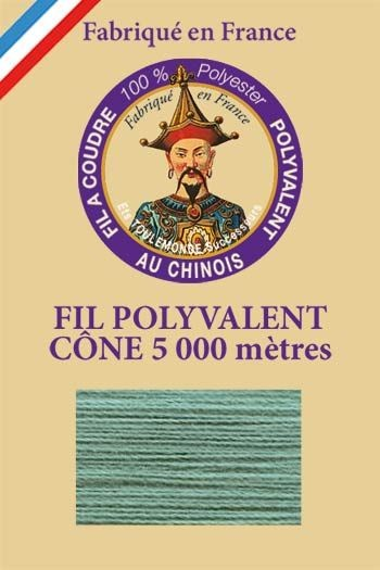 Polyester sewing thread 5000m cone - Col. 780 Teal