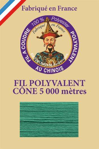 Polyester sewing thread 5000m cone - Col. 400 Jade green