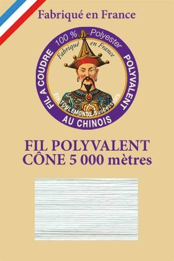 Polyester sewing thread 5000m cone - Col. 136 Celadon