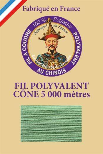 Polyester sewing thread 5000m cone - Col. 800 Mint
