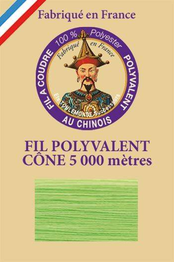 Polyester sewing thread 5000m cone - Col. 996 Neon green
