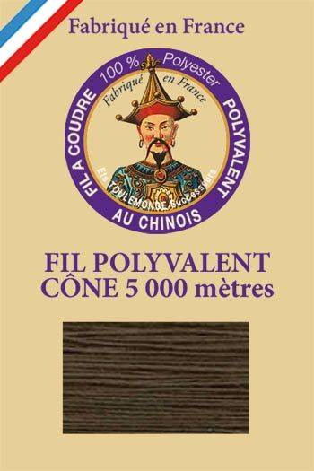 Polyester sewing thread 5000m cone - Col. 795 Army green