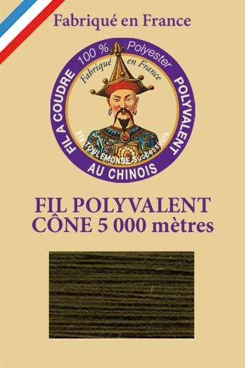 Polyester sewing thread 5000m cone - Col. 840 Shetland