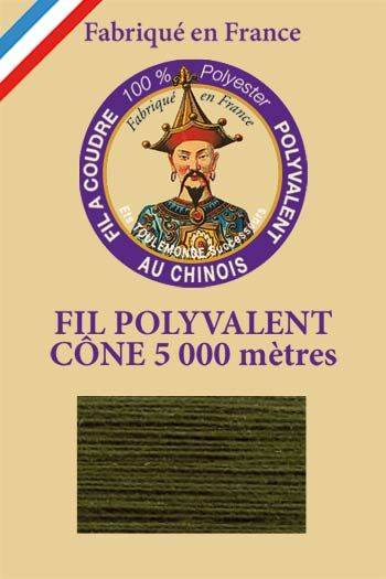 Polyester sewing thread 5000m cone - Col. 830 Larch