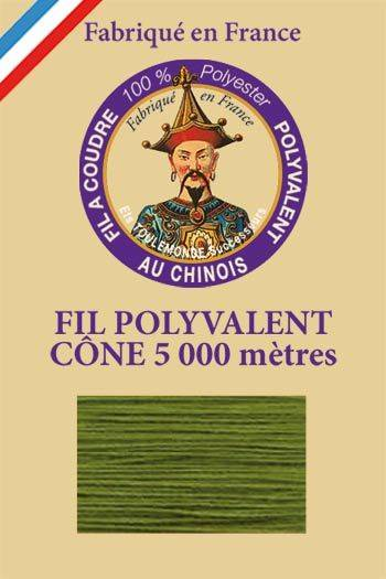 Polyester sewing thread 5000m cone - Col. 7668 Salamander