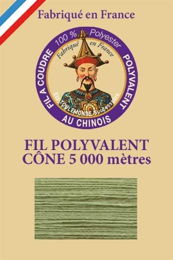 Polyester sewing thread 5000m cone - Col. 7088 Sage green