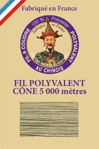 Polyester sewing thread 5000m cone - Col. 384 Putty