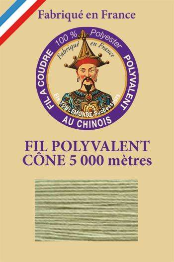 Polyester sewing thread 5000m cone - Col. 332 Almond