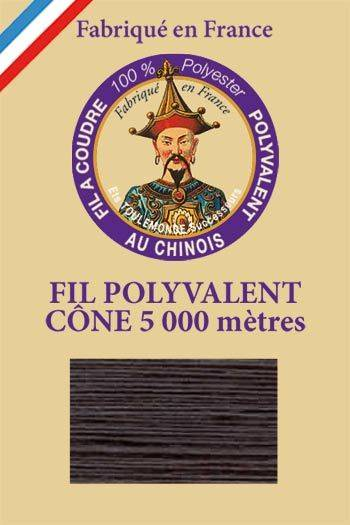 Polyester sewing thread 5000m cone - Col. 352 Dark grey