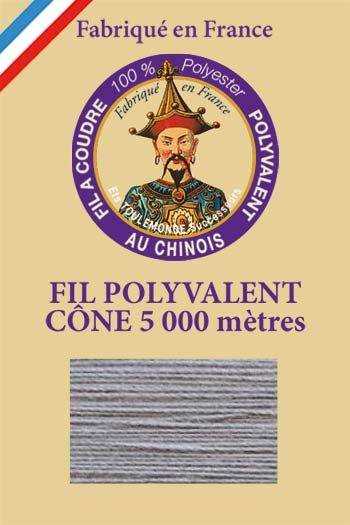 Polyester sewing thread 5000m cone - Col. 5130 Mouse