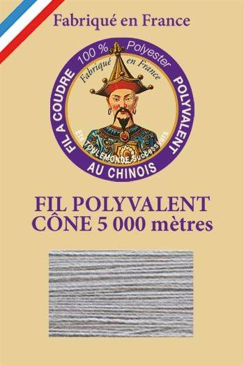Polyester sewing thread 5000m cone - Col. 110 Mist