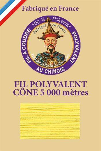 Polyester sewing thread 5000m cone - Col. 320 Sun