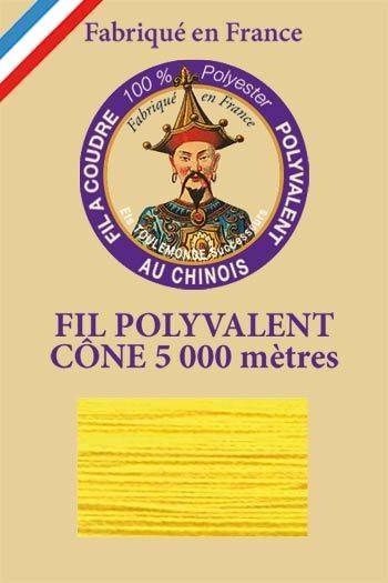 Polyester sewing thread 5000m cone - Col. 340 Nankin