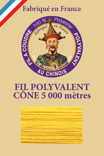 Polyester sewing thread 5000m cone - Col. 360 Buttercup
