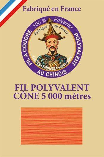 Polyester sewing thread 5000m cone - Col. 998 Neon orange
