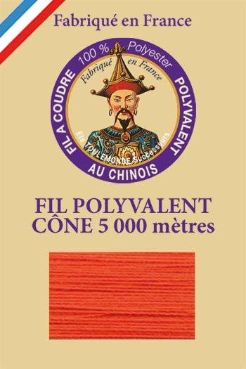 Polyester sewing thread 5000m cone - Col. 380 Poppy