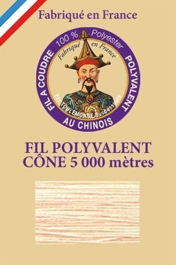 Polyester sewing thread 5000m cone - Col. 7535 Salmon
