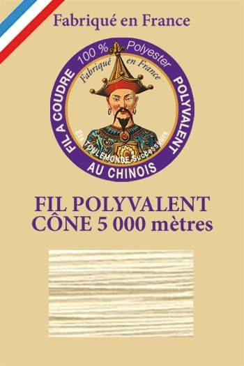Polyester sewing thread 5000m cone - Col. 7095 Champagne