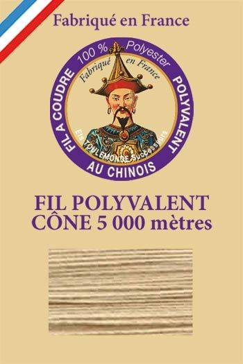 Polyester sewing thread 5000m cone - Col. 751 String