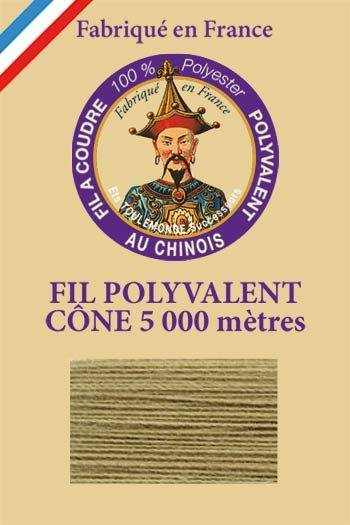 Polyester sewing thread 5000m cone - Col. 270 Reseda