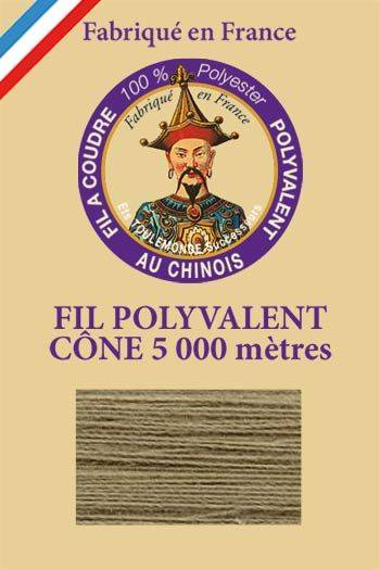 Polyester sewing thread 5000m cone - Col. 280 Resin