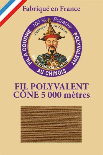 Polyester sewing thread 5000m cone - Col. 290 Chamois