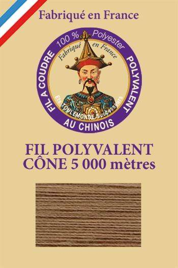 Polyester sewing thread 5000m cone - Col. 251 Beige