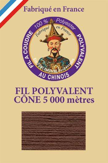 Polyester sewing thread 5000m cone - Col. 235 Otter