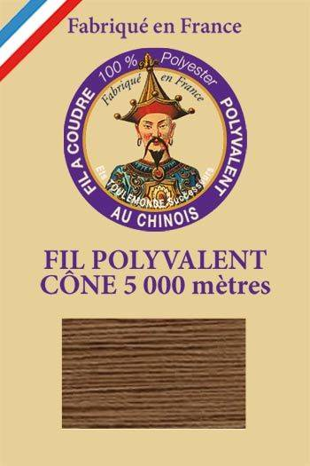 Polyester sewing thread 5000m cone - Col. 577 Camel