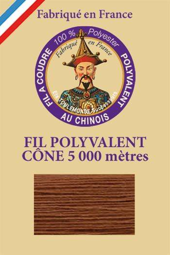 Polyester sewing thread 5000m cone - Col. 532 Deer