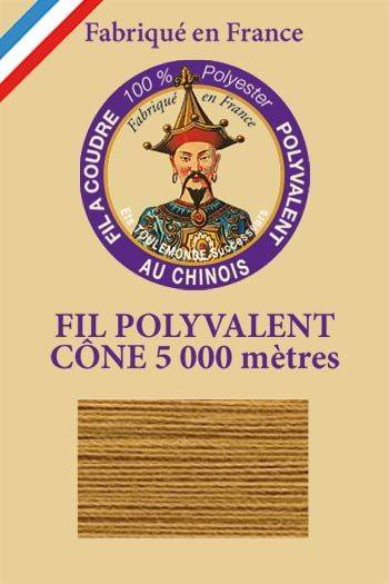 Polyester sewing thread 5000m cone - Col. 317 Bark