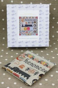 Buy together: Chenonceau kit and linen printed tea towel