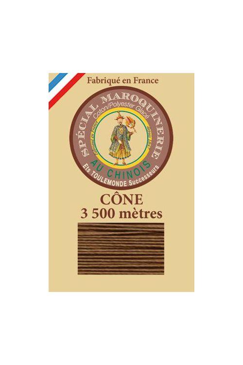 Fil-Au-Chinois Lederzwirn Stärke 28/2 Kone - 3 500 m Lauflänge 374 - Bronze
