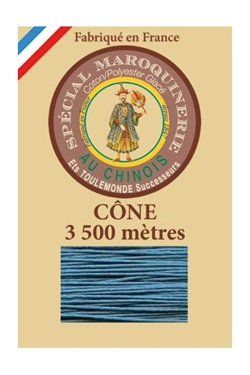 Leather polycotton thread size 28/2 - 3 500m cone - Col. 863 Duck