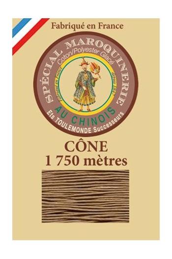 Fil-Au-Chinois Lederzwirn Stärke 28/4 Kone - 1 750 m Lauflänge 185 - Beige