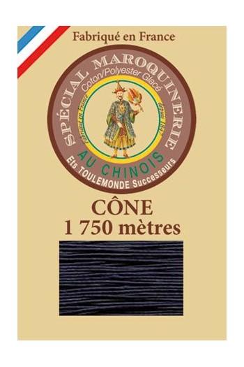 Fil spécial maroquinerie 28/4 Fil Au Chinois - Cône 1 750m - Coloris 246 Matelot