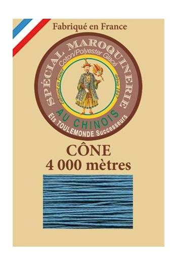 Fil Au Chinois leatherwork polycotton thread size 50/3 - 4 000m cone - Col. 863 Duck