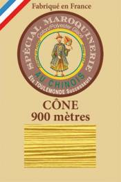 Leather polycotton thread size 28/2 - 900m cone - Col. 239 Chicklet