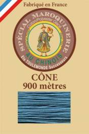 Leather polycotton thread size 28/2 - 900m cone - Col. 863 Duck